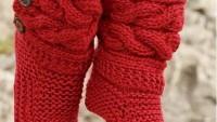 Kırmızı Çorap Örelim