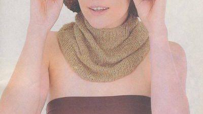 Kabartmali Çizgili Şapka