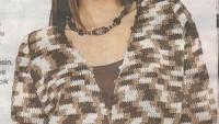 Kahverengi Kemerli Hırka