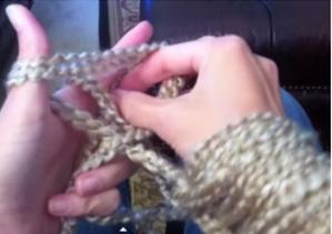 kolay ve basiy tolla battaniye örme