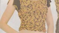 Kolu Yırtmaçlı Mini Bluz