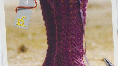 Kurdelalı Uzun Çorap