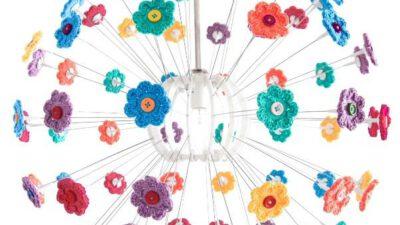 Çiçek Motifleri ile Avize Yapalım