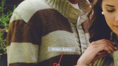 Nako Astra Erkek Hırka Yapılışı