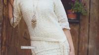 Nako Lame Örgü Elbise