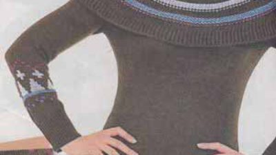 Örgü Mini Elbise