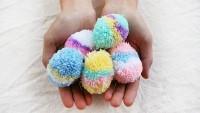 Rengarenk Ponponlar Yapmayı Öğrenelim