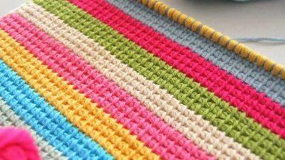 Rengarenk Battaniye Ve Örtüler