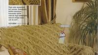 Saçaklı Örgü Battaniye