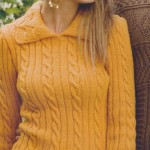 Sarı Renkli Bayan Kazak