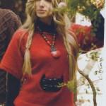 Yarım Kollu Kırmızı Bayan Kazağı