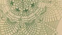 Yuvarlak Dantel Örtü ve Ananas Motifli Örtü